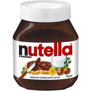 A jar of Australian Nutella