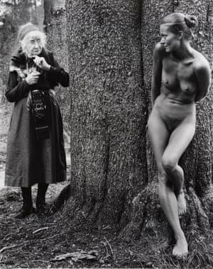 Imogen and Twinka at Yosemite 1974