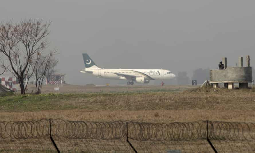 The international airport in Islamabad