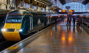 'Insult to injury': GWR-branded trains at London's Paddington station.