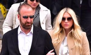Kesha leaves the New York State Supreme Court.