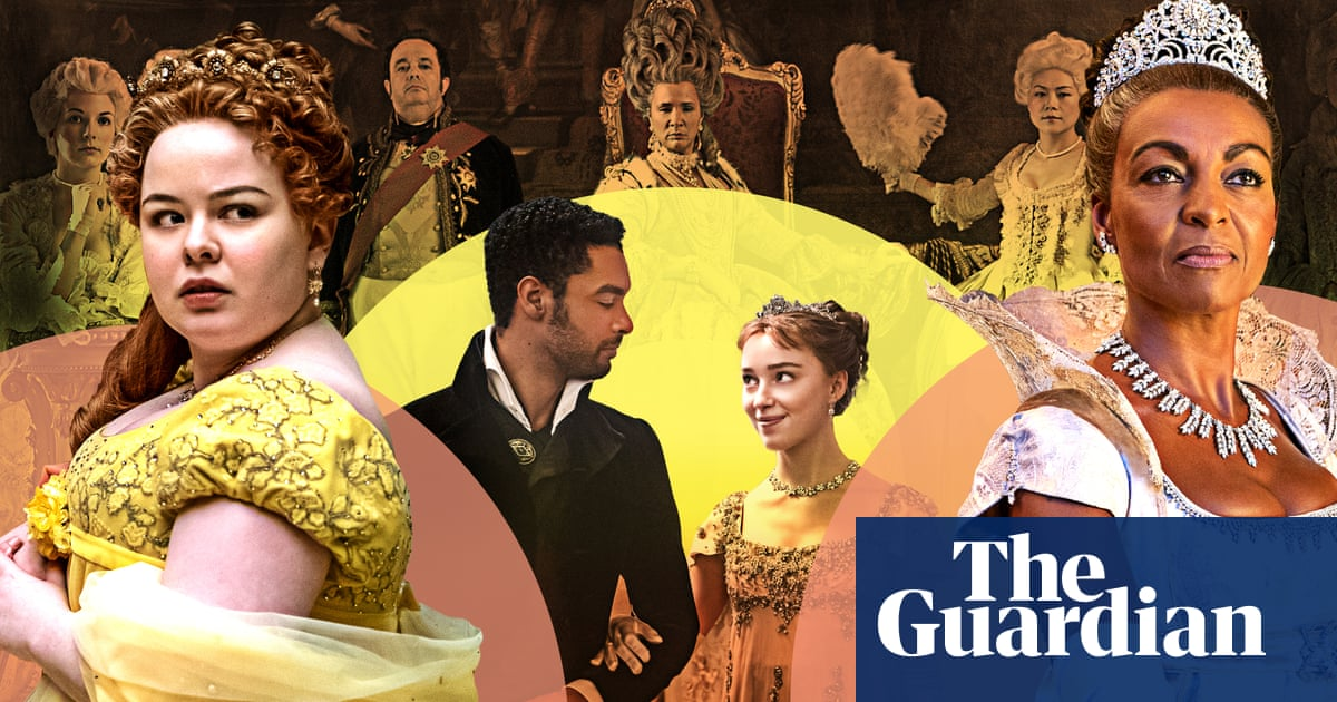 Pomp and romps: how Bridgerton became the most talked about show on TV