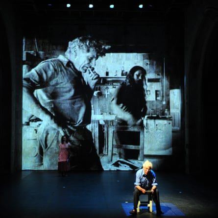John Berger on stage