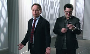 Billy Crystal and Josh Gad in The Comedians