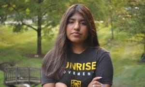 Fernanda Scharfenberger, 18, is a climate activist.