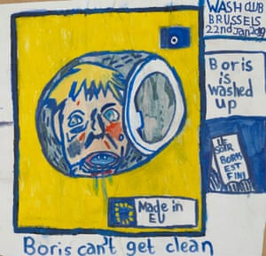 Boris Can't Get Clean by Eliot Lord.