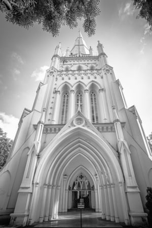 The Majestic St Andrew's Cathedral Tower by Andrean Hadhianto Kwee, Singapore