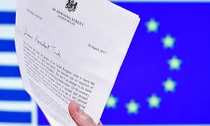 The article 50 letter.