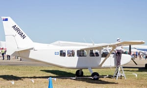 GA-8 Airvan, the type of plane involved in the Swedish skydiving crash.