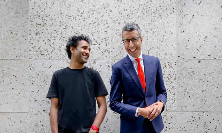 Rohan Silva (left) and Kamal Ahmed, presenters of new BBC podcast The Disrupters.