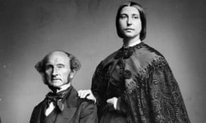 Helen Taylor with John Stuart MillPhilosopher, politician and social reformer, John Stuart Mill (1806 - 1873) with his stepdaughter . (Photo by London Stereoscopic Company/Getty Images)