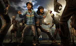 The Walking Dead video game, season two.