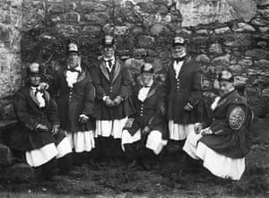Lord St Levan's boatmen, of St Michael's Mount