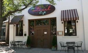 Exterior of Pearl Cafe, Missoula, Montana, US.