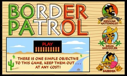The Border Patrol video game