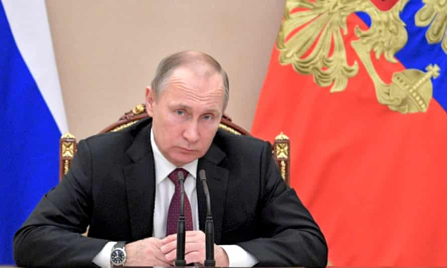 'The dossier suggests that Vladimir Putin personally supervised the operation…'