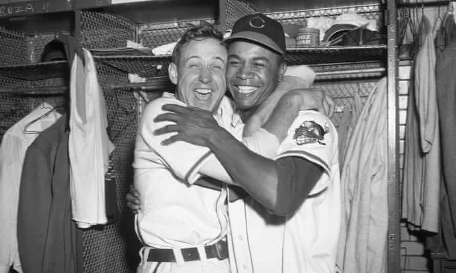 Steve Gromek and Larry Doby