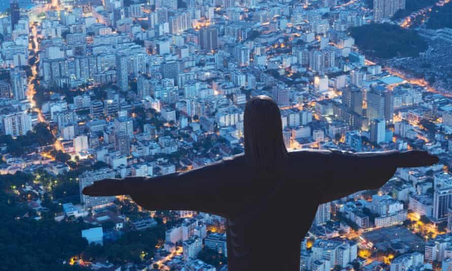 Statue of Christ the Redeemer, Corcovado, Rio de Janeiro.