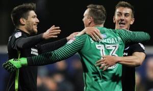The Brighton goalkeeper David Stockdale