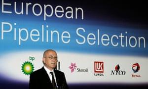 The Trans-Adriatic Pipeline's managing director, Kjetil Tungland.