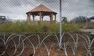 Border Control conceptual garden