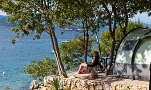 Camping Glavotok, Croatia