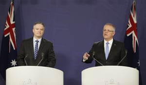 Mathias Cormann and Scott Morrison
