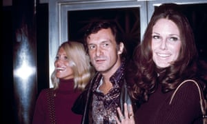 Hefner in 1972. Gloria Steinem said he wanted to 'go down in history as a person of sophistication and glamour'. But she said 'the last person I would want to go down in history as is Hugh Hefner.