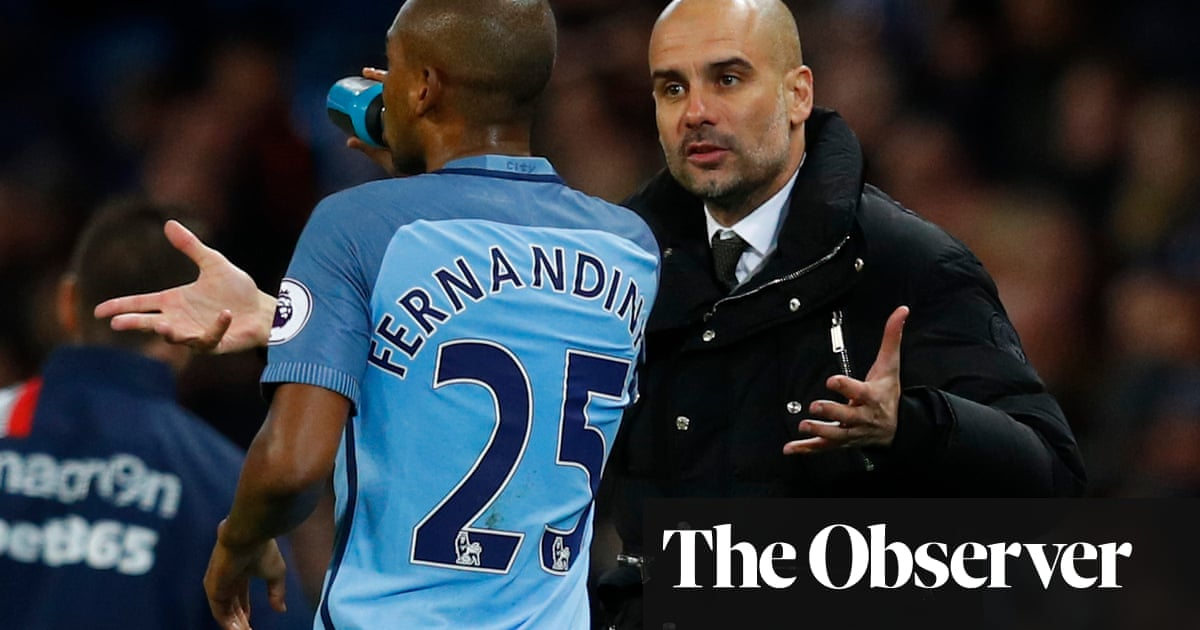 Pep Guardiola's zonal theory will take time for Manchester