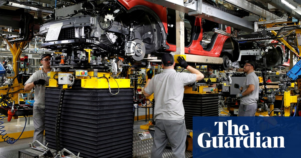Lowest levels of car production for any July since 1956, UK industry reports