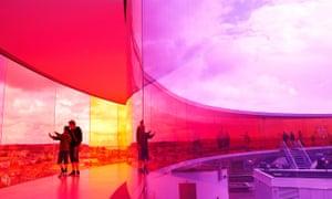 Contemporary art museum ARoS.