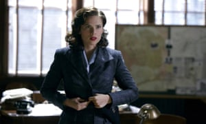 Well-rounded … Hayley Atwell as Peggy Carter.
