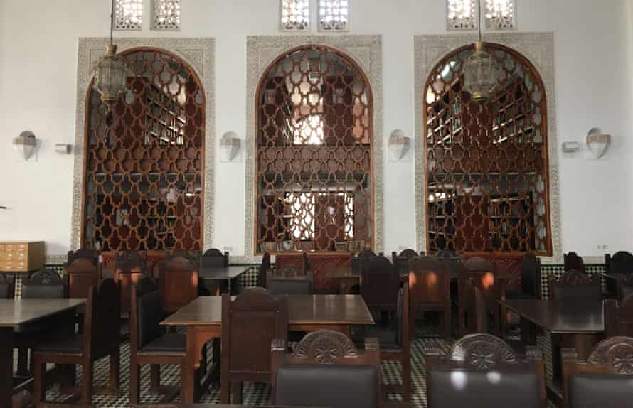 Inside oldest library in the world