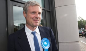Zac Goldsmith's 2016 campaign to be mayor of London has been criticised by one of the three Tory mayoral candidates.