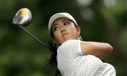 Golfer Michelle Wie