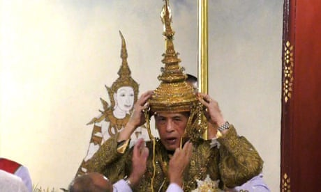 King Vajiralongkorn of Thailand is crowned in elaborate ceremony