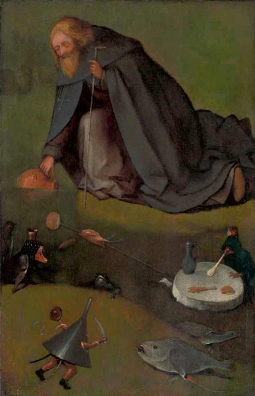The Temptation of Saint Anthony, by Hieronymus Bosch.