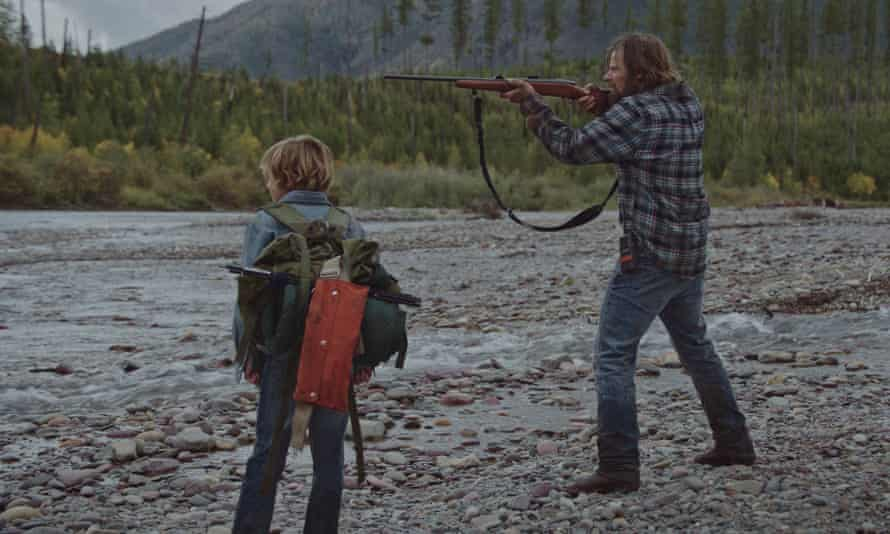 Heading for trouble … Sasha Knight and Steve Zahn in Cowboys.