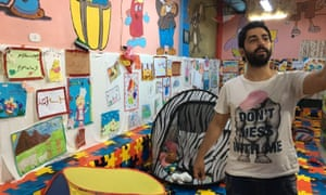 Asmar Halabi, the orphanage's director