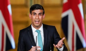 Rishi Sunak announced in March that the government would pay up to 80% of the wages of furloughed staff up to a maximum of £2,500 a month.
