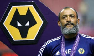 Nuno Espírito Santo saw his side beat Manchester City on penalties to win the Premier League Asia Trophy in Shanghai.