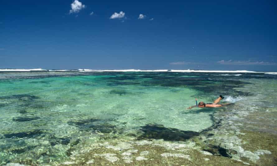Snorkelling Off Western Australian coast