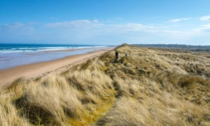 Coul Links – the dunes on the Sutherland coast.