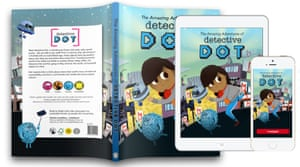 Detective Dot stories will be both print books and digital apps.