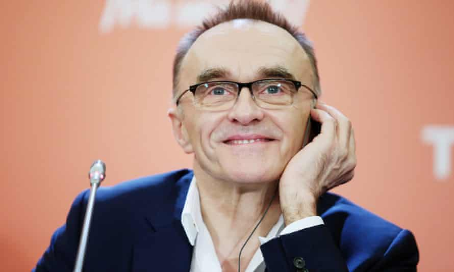 Danny Boyle promoting T2, the Trainspotting sequel, in 2017.