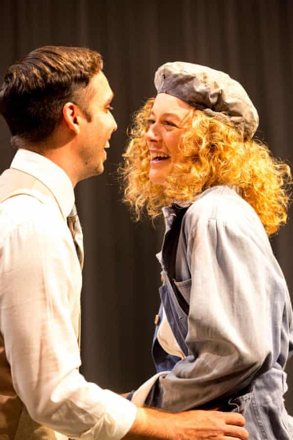 Guy Simon as the head-turning Harry Beecham with Nikki Shiels as Sybylla.