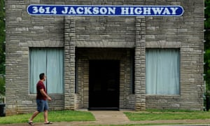 The Muscle Shoals sound studio in Sheffield, Alabama.