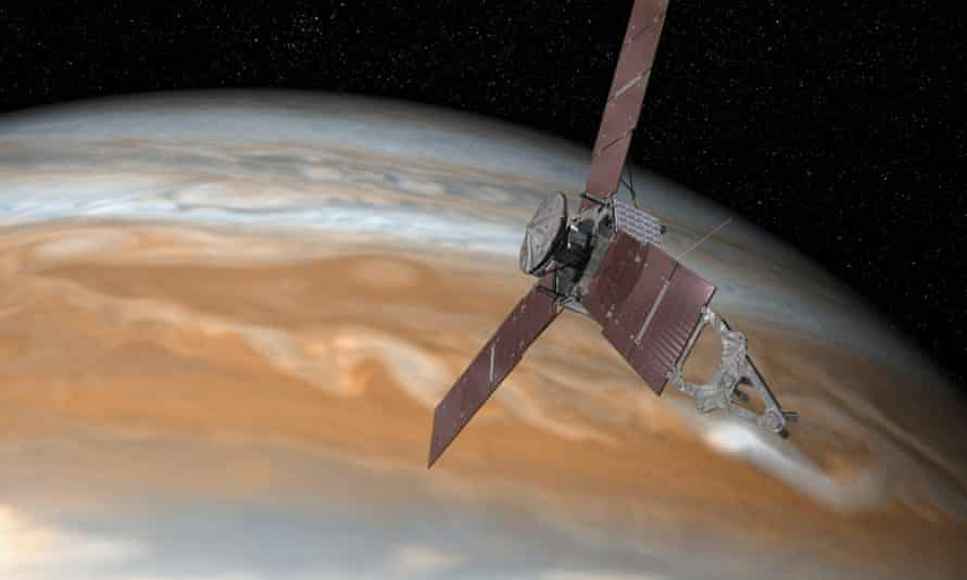 The Juno probe was launched in 2011.