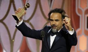 Golden boy: Alejandro G. Inarritu