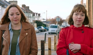 Diane Morgan and Anna Maxwell-Martin in Motherland.